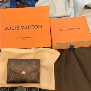 Louis Vuitton wallet Made in France